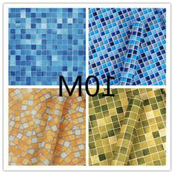 10M Mosaic Contact Wallpaper Self-Adhesive Removable Peel St