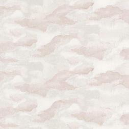 83874104 - Idylle Floating clouds Pink Casadeco Wallpaper