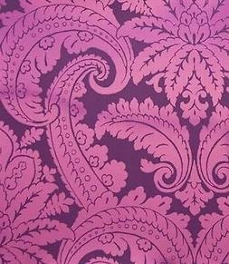 Eijffinger Club Floral Damask Feather Chic Flock Feature Wal