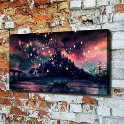 Harry Potter Background Wallpaper HD Canvas printed Home dec