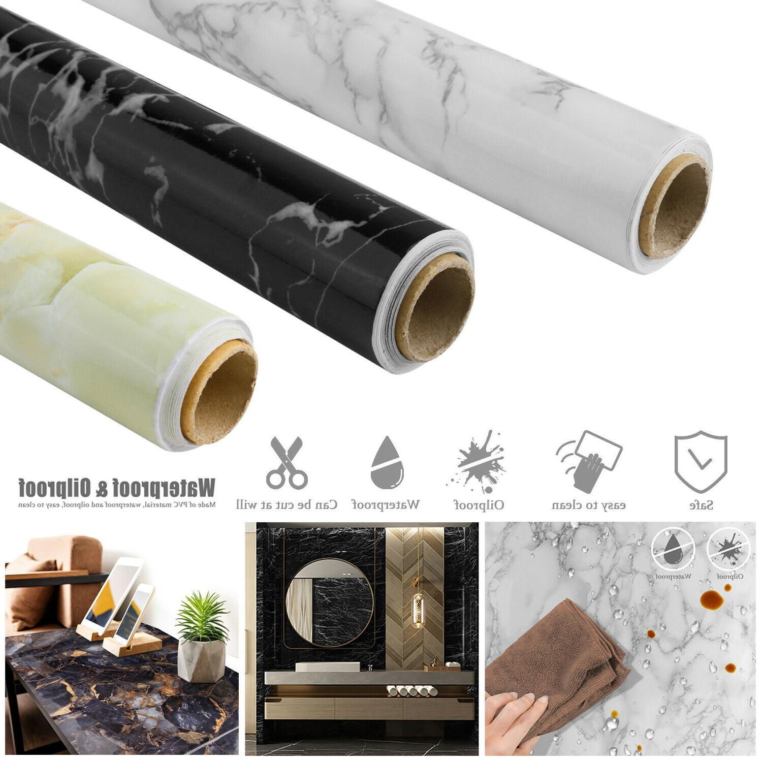marble contact paper self adhesive peel
