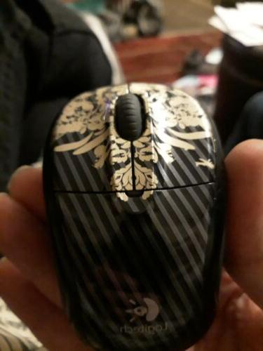 wireless mouse m305 includes receiver dongle victorian