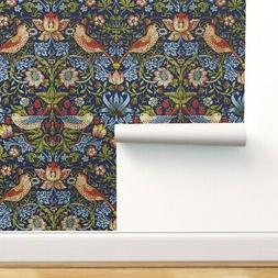 Removable Water-Activated Wallpaper Victorian Victorian Flor