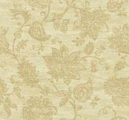 Stamped Jacobean Wallpaper in Rust AR31705 from Wallquest