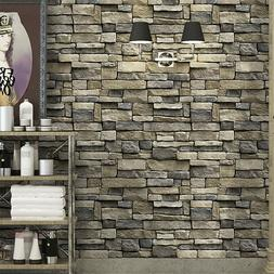 Stone Wallpaper Rock Self-Adhesive Contact Paper Peel and St