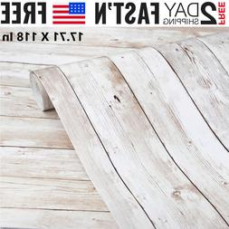 Wood Contact Paper Self-Adhesive and Stick Wallpaper Decorat